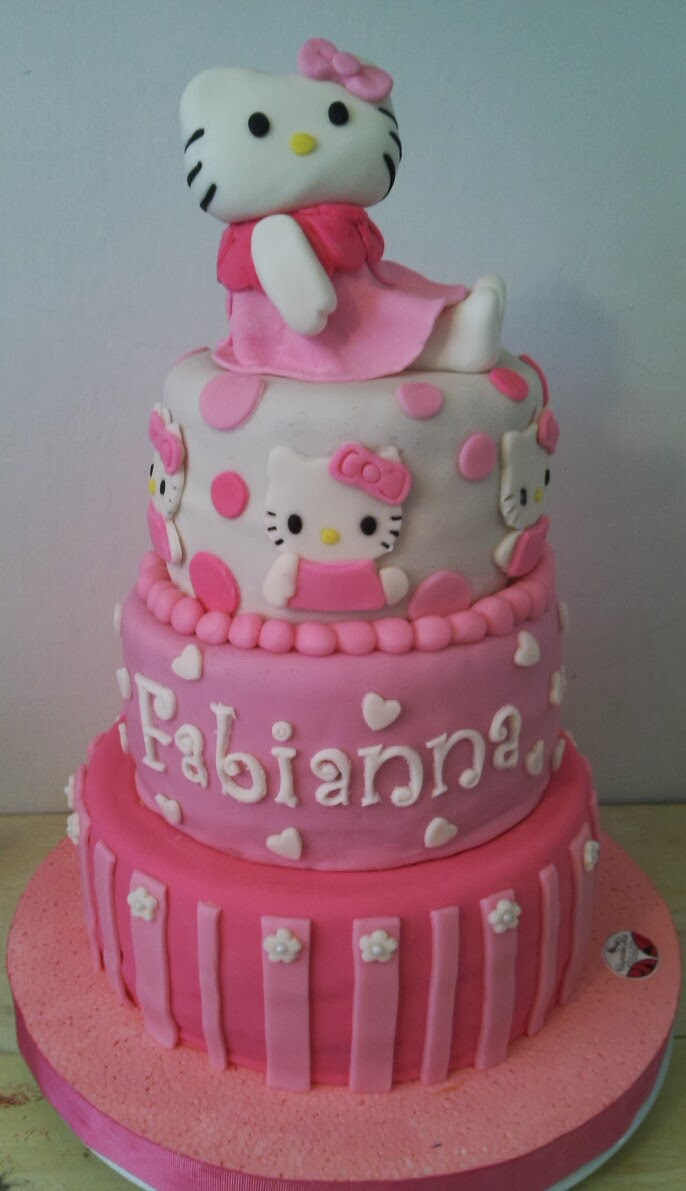 CupCake-KA: Tortas Decoradas en Barquisimeto Hello Kitty