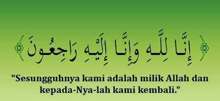 Innalillah, Ucapan musibah, Islam itu indah,
