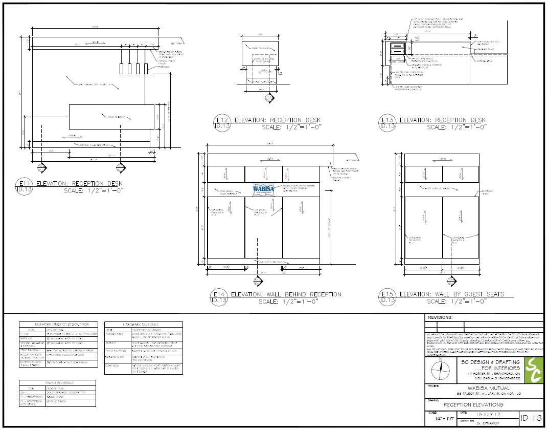 Millwork Design Sc Design Drafting