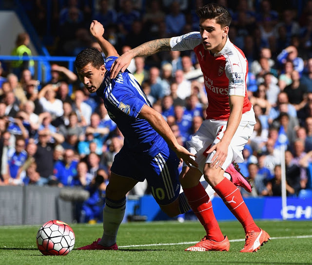hector bellerin arsenal vs chelsea 2015