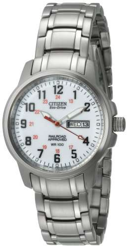 Citizen Men's BM8180-54A Eco-Drive Railroad Stainless Steel Watch