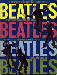 BEATLES MAGAZINE NEWS EN 3 EDICIONES DIARIAS A TU MAIL, SUSCRIBETE AQUI: