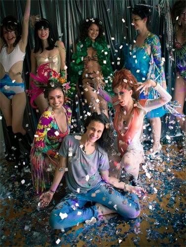maiôs body Lelê Barbieri coleção Vem Carnaval