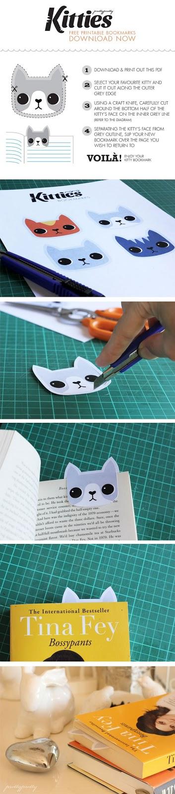 Preferenza Segnalibro fai da te per chi adora i gatti | Creare con la carta ♥ YB06