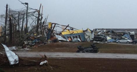 Tornado deja 4 muertos en Mississippi, el 24 de Diciembre 2014