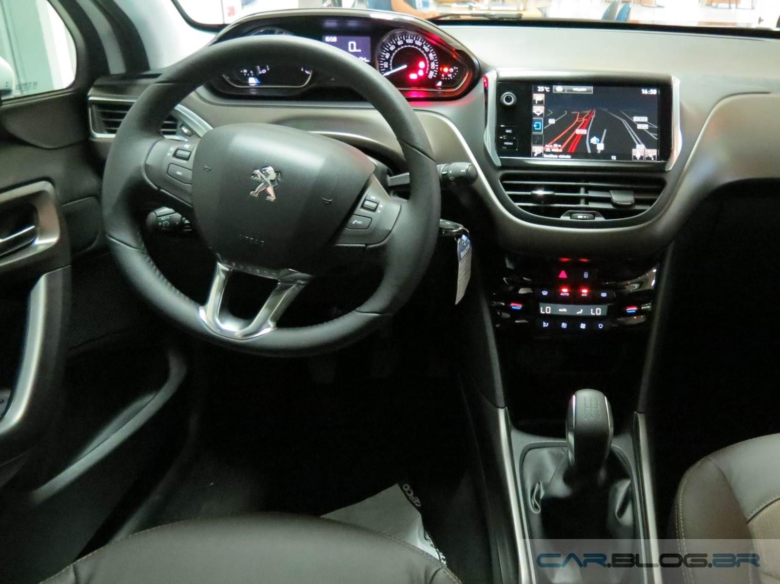 Novo Peugeot 2008 Automático