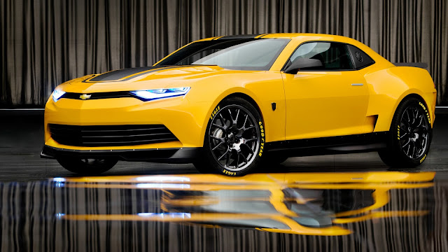 2014 Bumblebee Camaro Concept HD Wallpaper