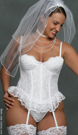 Lingerie plus wedding
