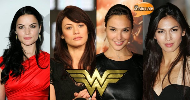 "Candidatas Wonder Woman en ""Batman vs Superman"": El Hombre de Acero 2"