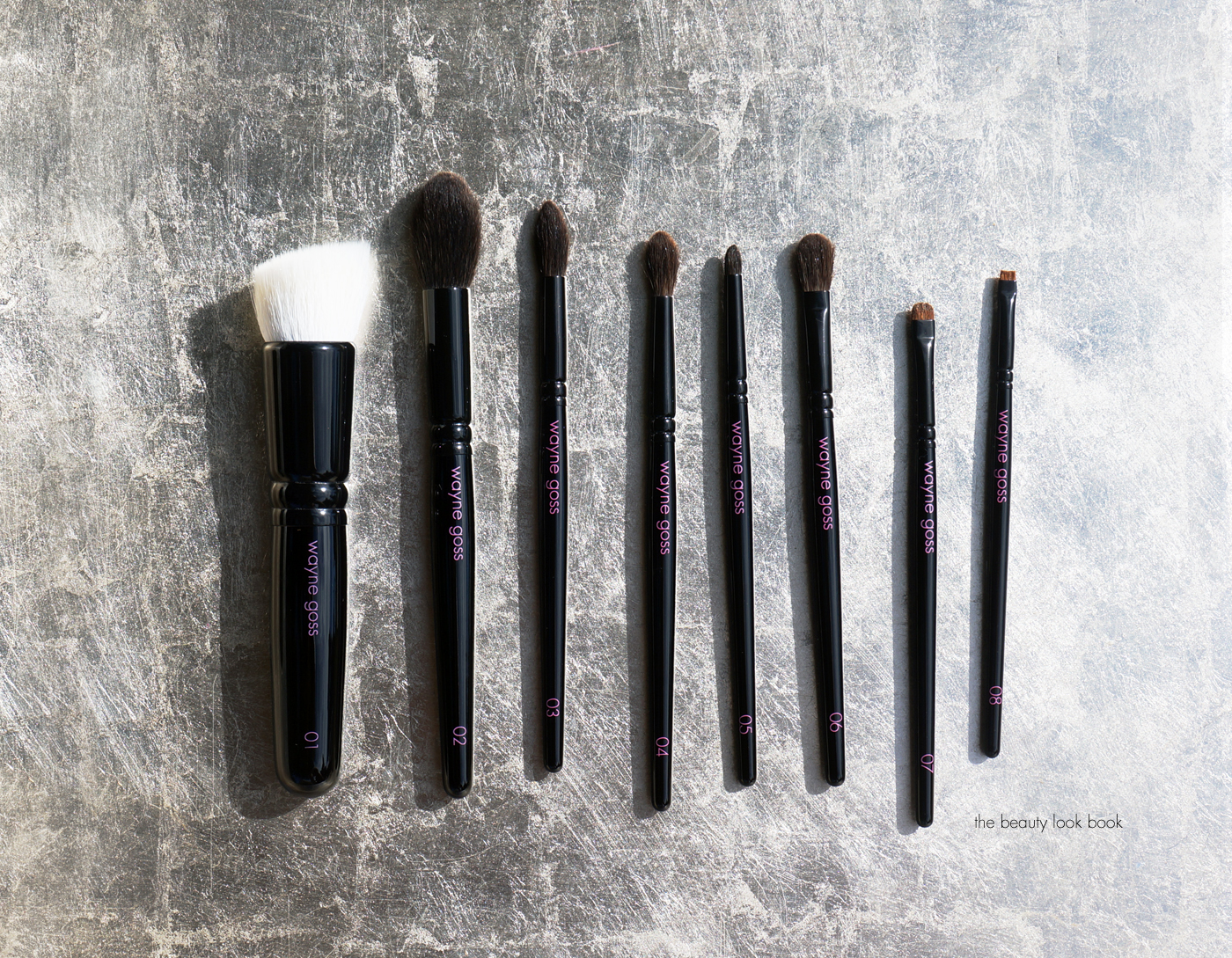 wayne goss brushes. the wayne goss anniversary brush set (limited-edition) | beauty look book brushes
