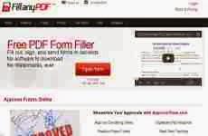 Fill Any Pdf: permite editar, completar y enviar formularios online en formato pdf
