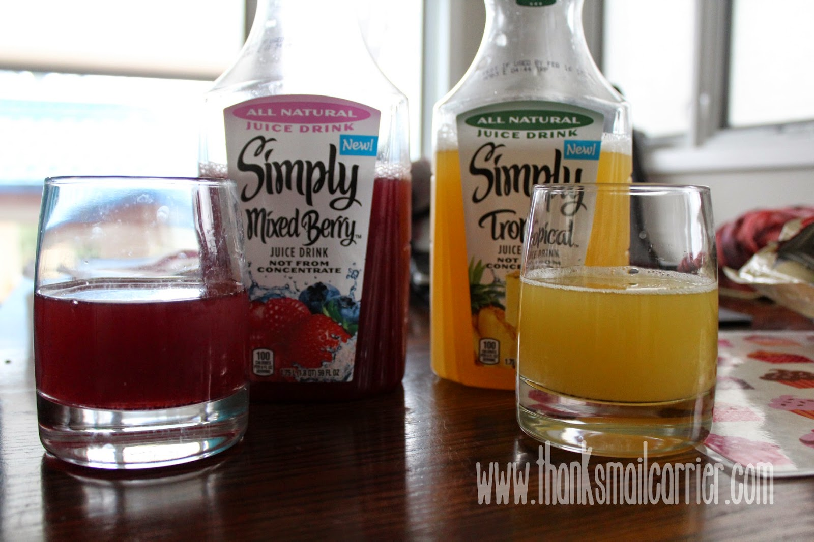 Simply Mixed Berry Tropical