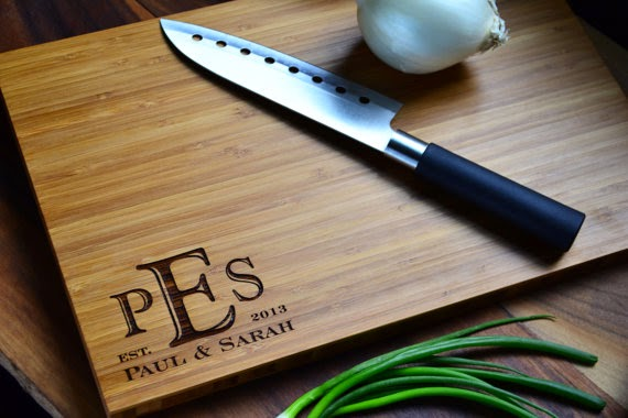 personalized cutting board #anniversary #wedding #gift #ideas