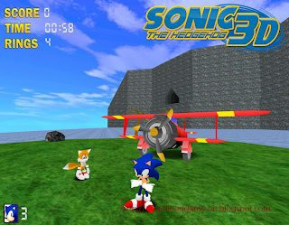 game PC,  game sonic the hedgehog 3D