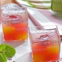Resep Cara Membuat Puding Buah Tropical Stroberi dan Jeruk