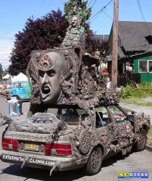 Carros Diferentes Bizarros Que Chamam Atenção