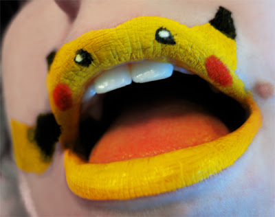 Maquiagem criativa que transforma a boca em arte - 05
