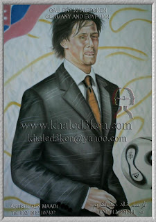 TOMAS ROSICKY Portrait Drawing Soccer Football Khaled3Ken Gallery