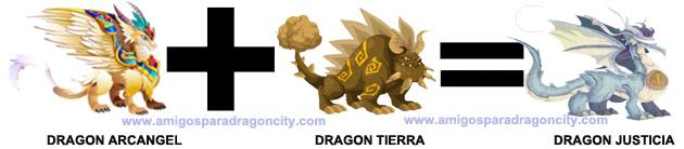 como sacar el dragon justicia en dragon city 2
