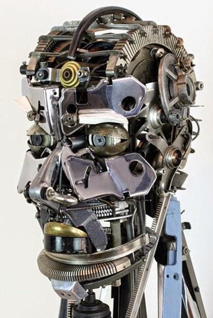 desain kepala robot