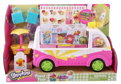 TOYS : JUGUETES - SHOPKINS | Season 3 | Serie 3  Camión de los helados | Scoops Ice Cream Truck  Producto Oficial 2015 | A partir de 5 años  Comprar en Amazon
