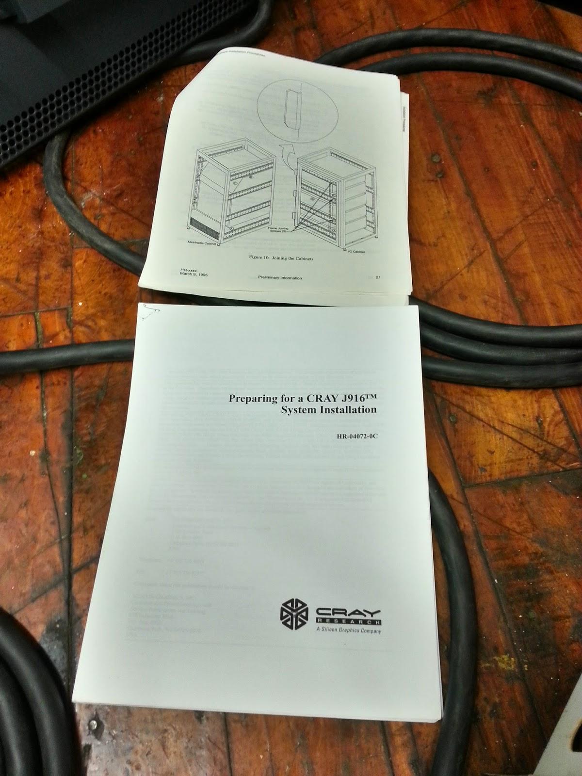Cray manuals