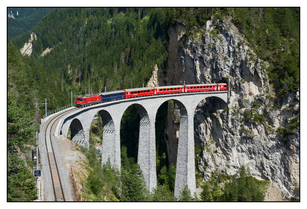 瑞士雷塔恩鐵路