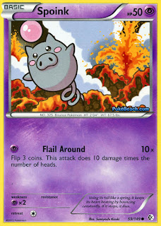 Spoink Boundaries Crossed Pokemon Card