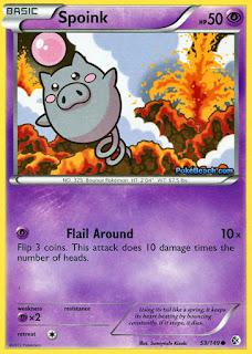 Spoink Boundaries Crossed Pokemon Card