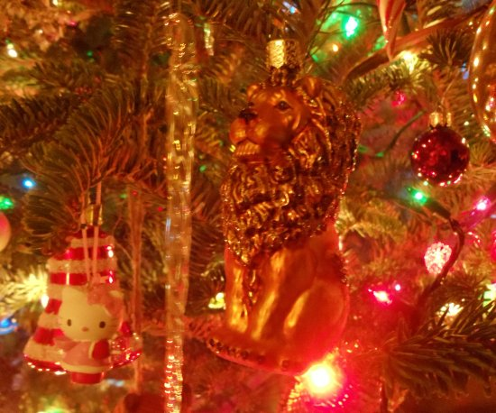 German Lion Ornament