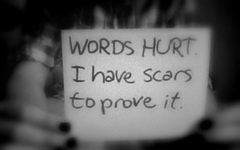 words hurt verbal abuse quotes quotesgram