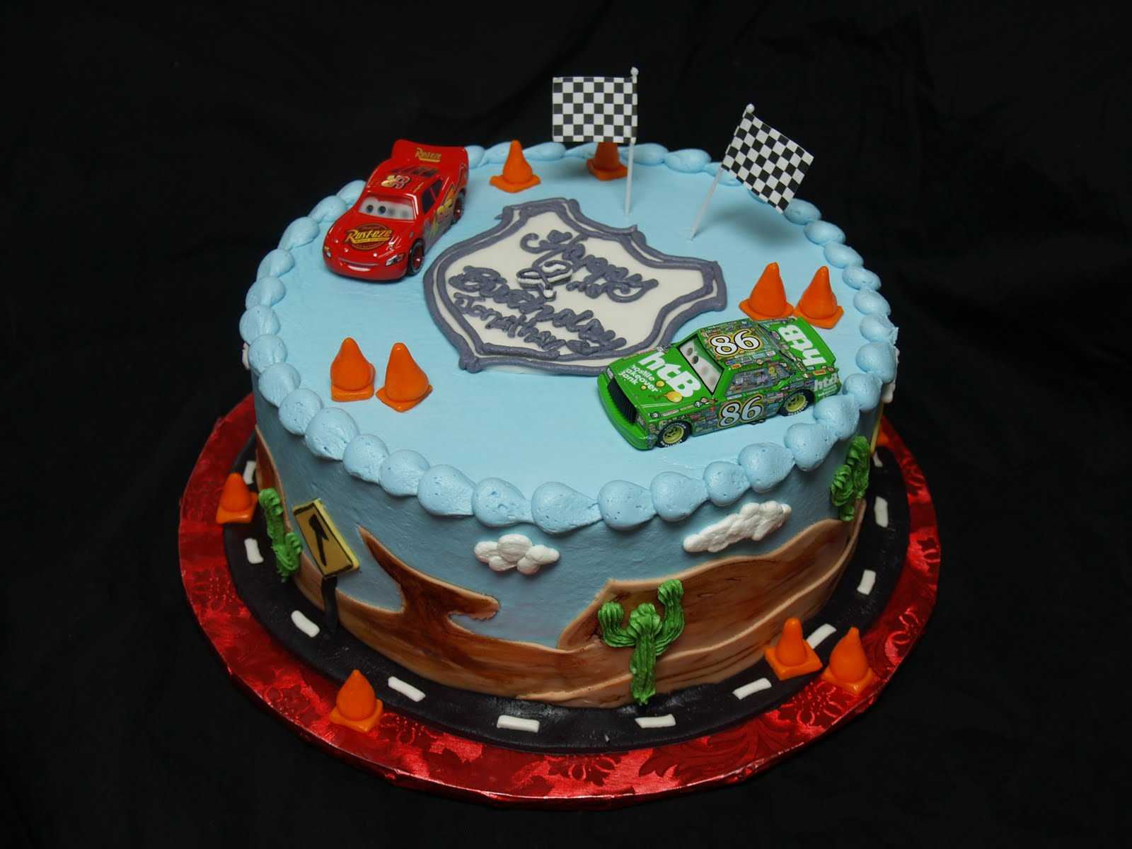 Becky s Sweets: Disney Cars cake