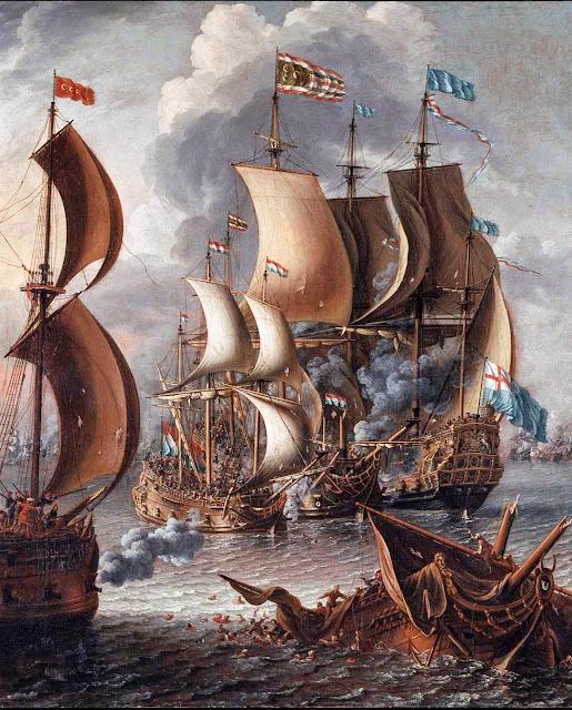 Castro Lorenzo: batalha naval contra os corsários maometanos que incursionavam desde o norte da África.