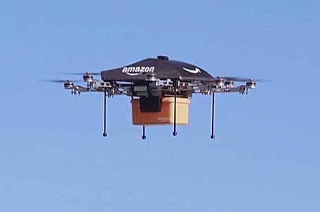 Drone buatan Amazon
