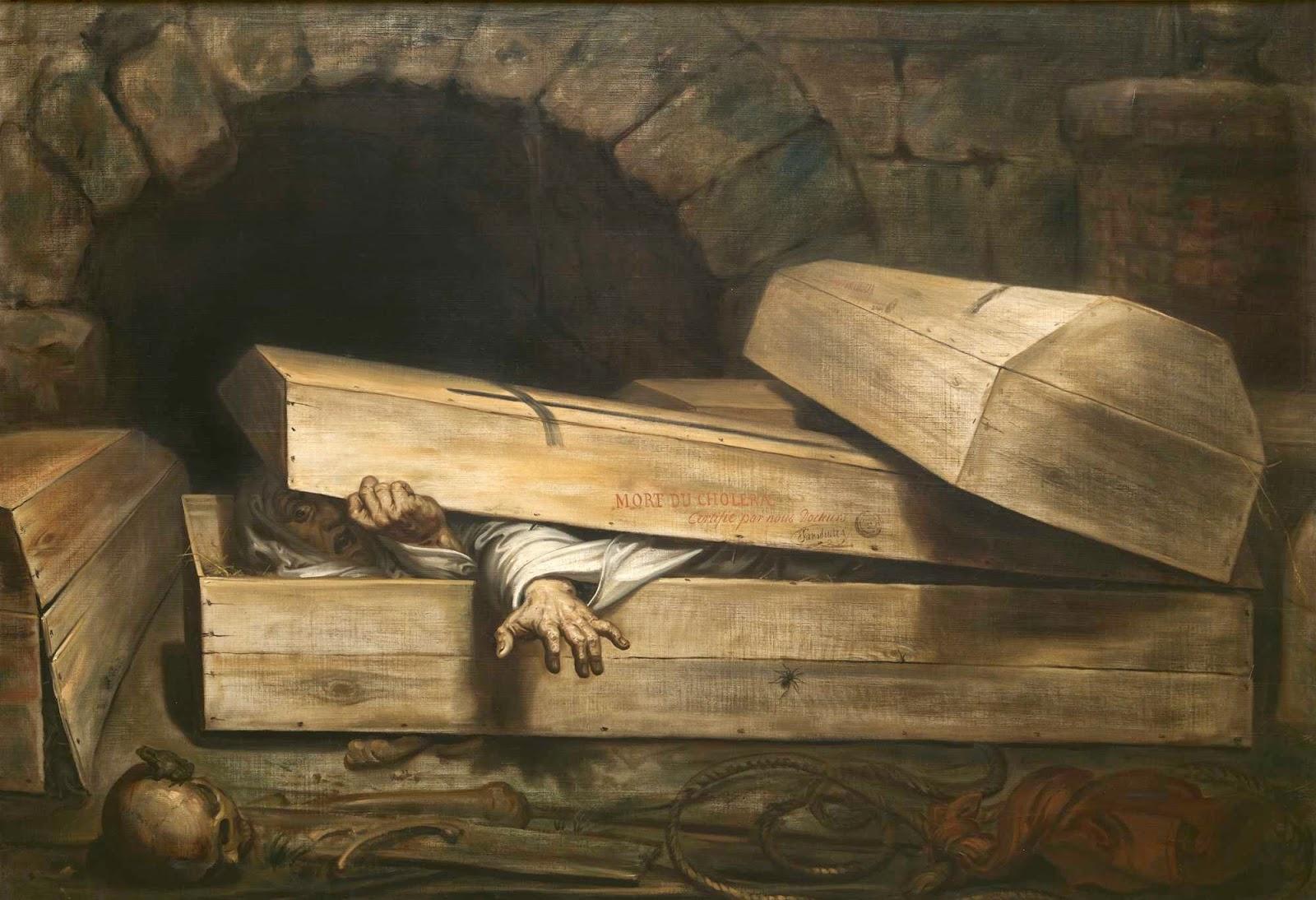 L'Inhumation précipitée (Antoine Wiertz - 1854)
