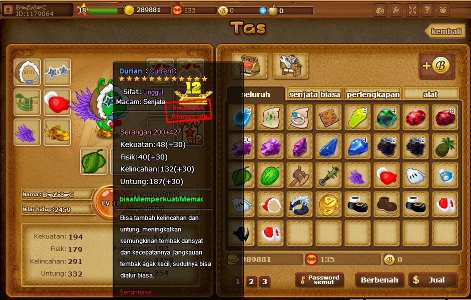 download cheat generator perjuangan semut