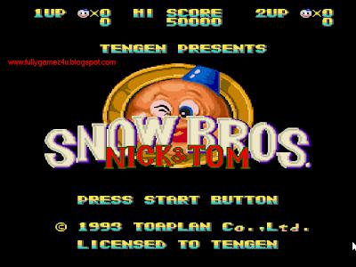 Download Free Snow Bros