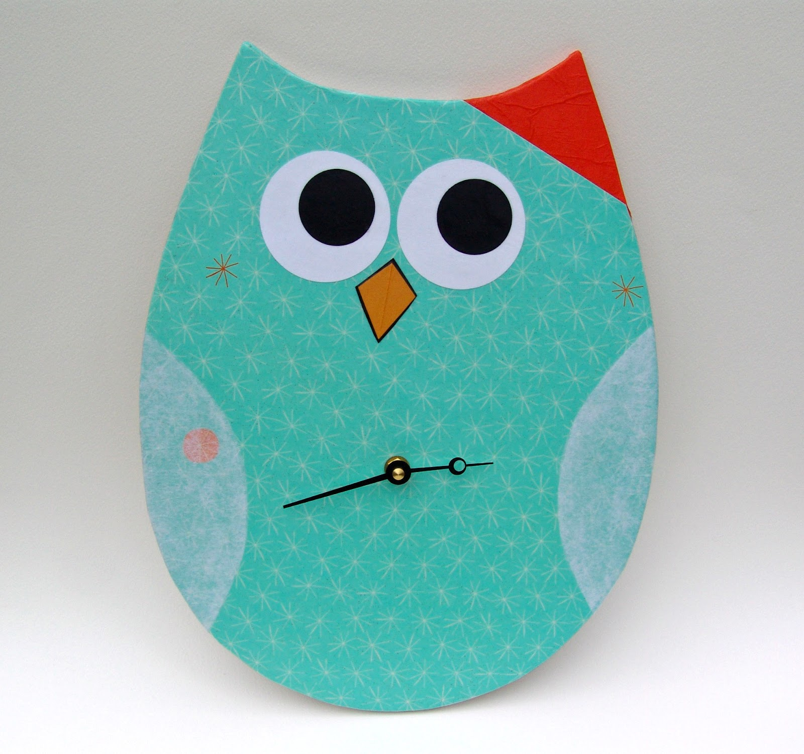 Cool Stuff Art Gallery Modern Owl Art Clock Collection