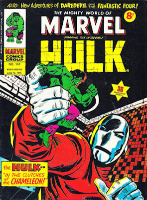 Mighty World of Marvel #141, Hulk vs Chameleon