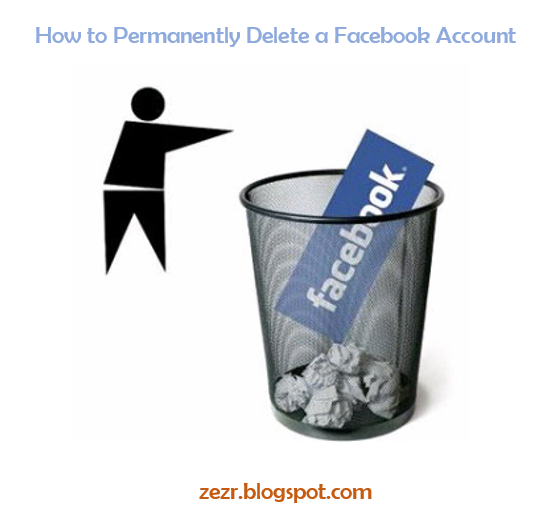 How To Permanently Delete A Facebook Account?-zezr