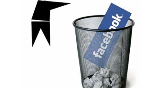 how to permanently delete a facebook talk