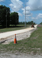 Construction Continues on Archer Road Bike Path