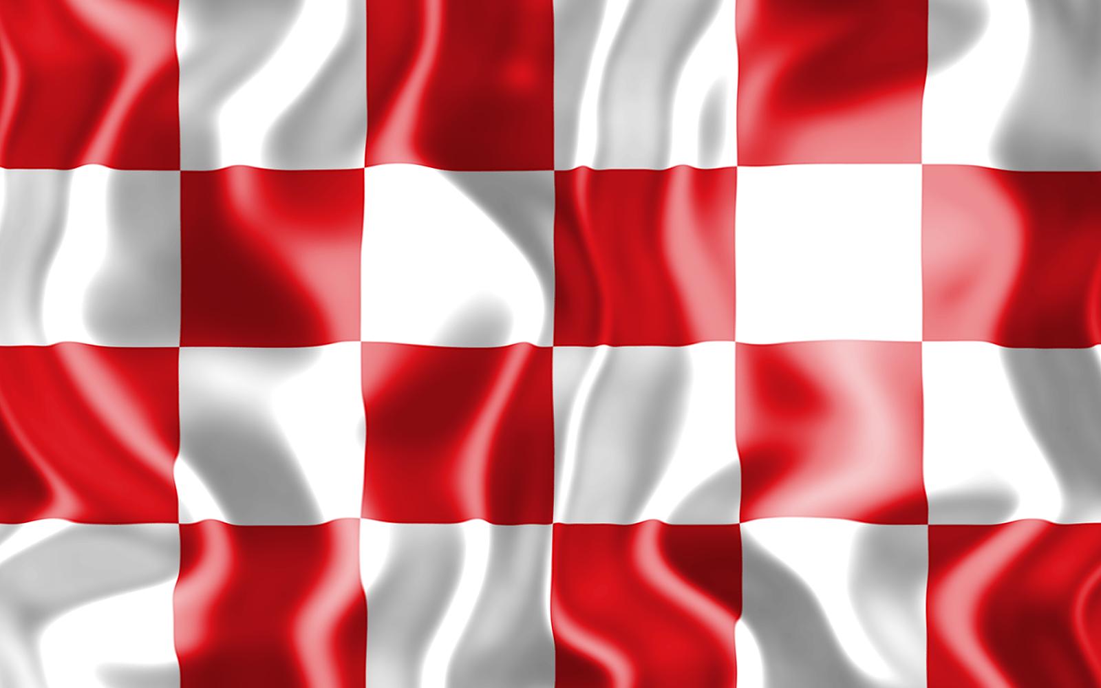 3D vlag van Noord-Brabant