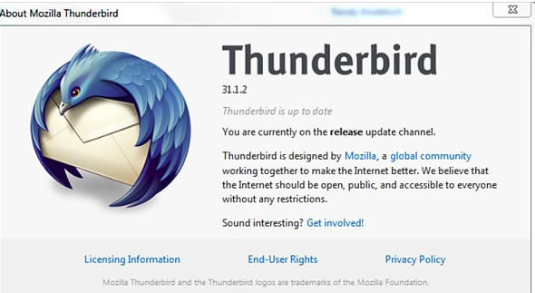 Thunderbird 31.1.2 Free Download