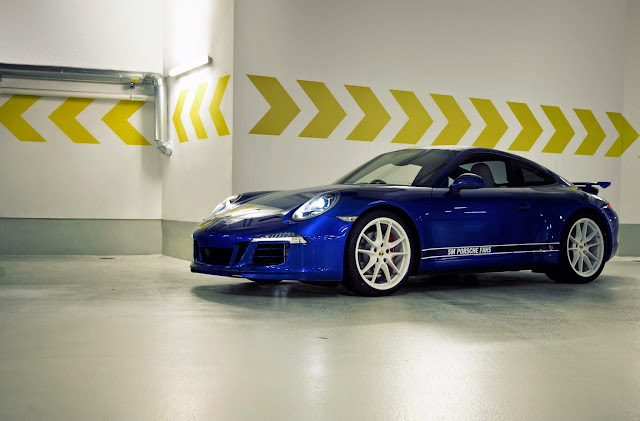 Porsche Honors 5 Million Facebook Fans with Crowdsourced 911 Carrera S