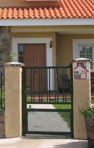 Fotos y dise os de puertas doble puerta de proteccion Puertas metalicas usadas