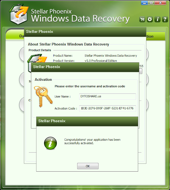 stellar phoenix windows data recovery serial key generator