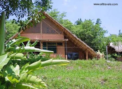 Casa ecológica de material sustentable