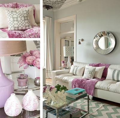 deco chambre interieur d coration romantique en pastel. Black Bedroom Furniture Sets. Home Design Ideas