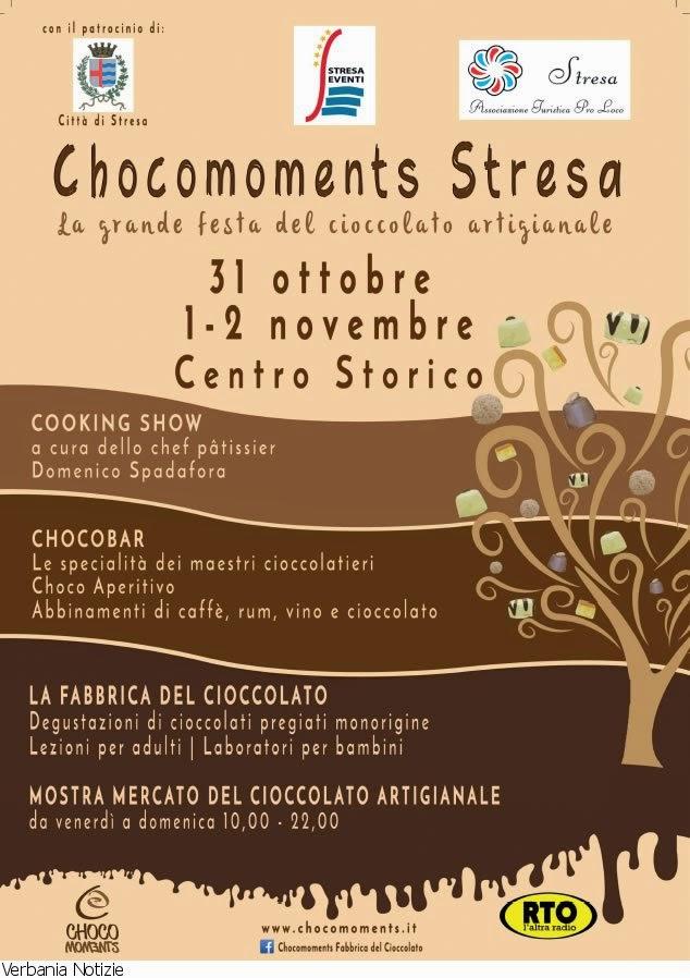 ChocoMoments a Stresa dal 31 Ottobre al 2 Novembre Stresa (Vb)